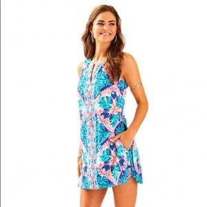 Lilly Pulitzer Tanya Romper with Pockets